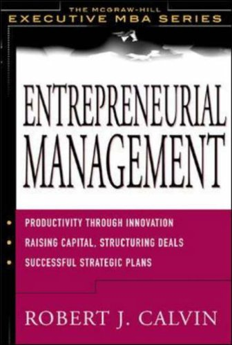 9780071382007: Entrepreneurial Management