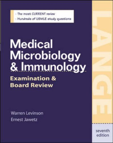 9780071382175: Medical Microbiology and Immunology (A Lange medical book)