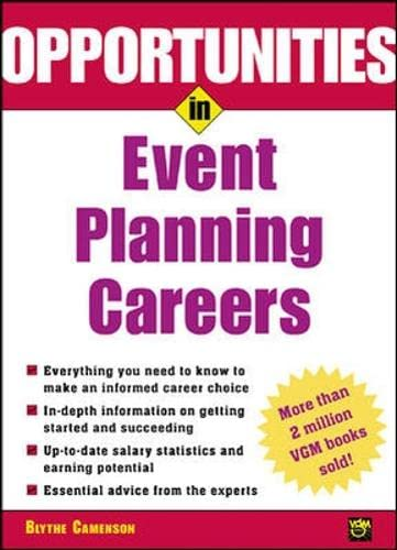 9780071382281: Opportunities in Event Planning Careers