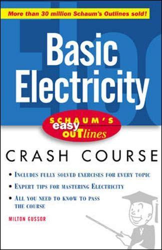 9780071383165: Schaum's Easy Outline of Basic Electricity (Schaum's Easy Outlines)