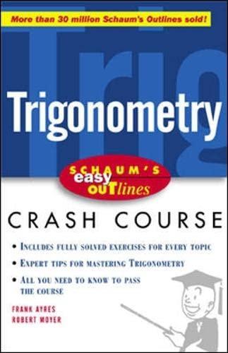 9780071383189: Schaum's Easy Outline of Trigonometry