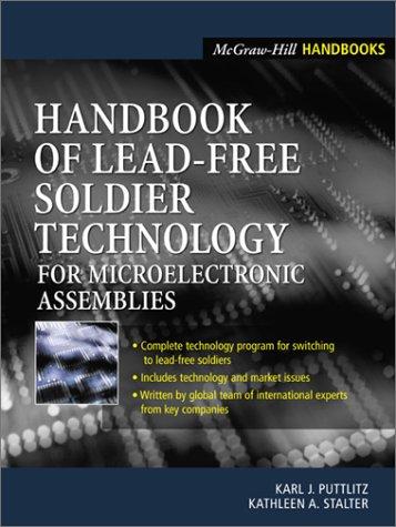 9780071383370: Handbook of Lead-Free Solder Technology: For Microelectronic Assemblies (Engineering Handbooks)