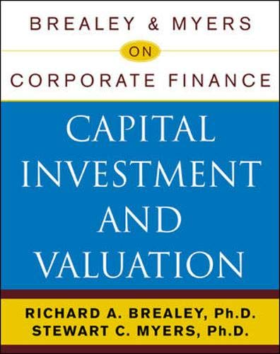 9780071383776: Brealey & Myers on Corporate Finance: Capital Investment and Valuation