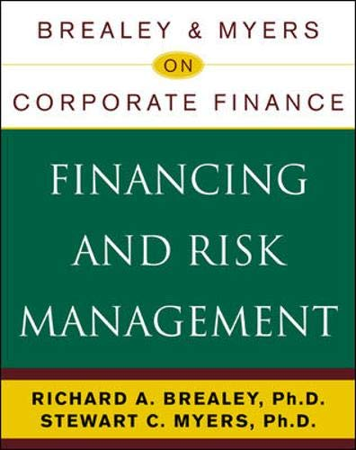9780071383783: Financing and Risk Management (Brealey & Myers on Corporate Finance)