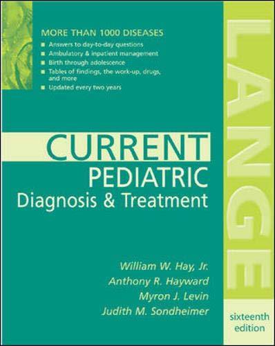 9780071383844: Current Pediatric Diagnosis & Treatment
