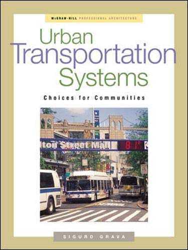 9780071384179: Urban Transportation Systems (McGraw-Hill Professional Architecture)