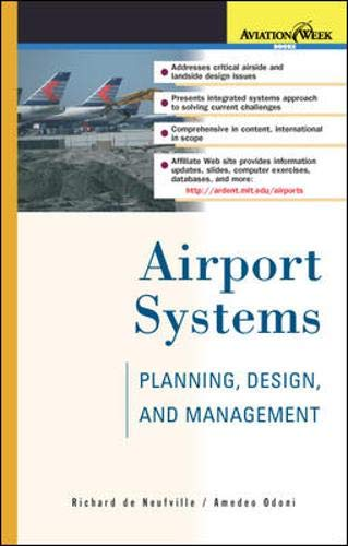 9780071384773: Airport Systems: Planning, Design, and Management