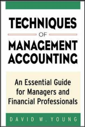 9780071384865: Techniques of Management Accounting: An Essential Guide for Managers and Financial Professionals