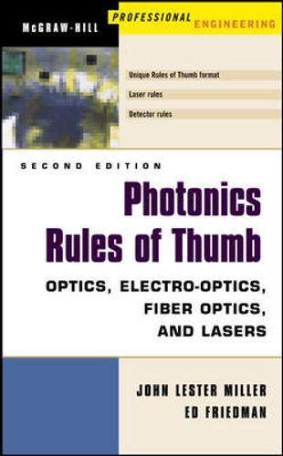 9780071385190: Photonics Rules of Thumb: Optics, Electro-Optics, Fiber Optics and Lasers