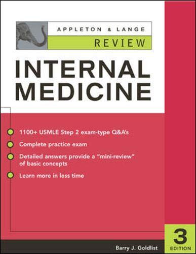 9780071385244: Appleton & Lange Review of Internal Medicine