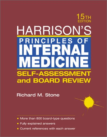 9780071385275: Harrison's Principals of Internal Medicine
