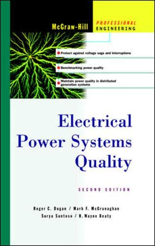 9780071386227: Electrical Power Systems Quality (McGraw-Hill Professional Engineering)