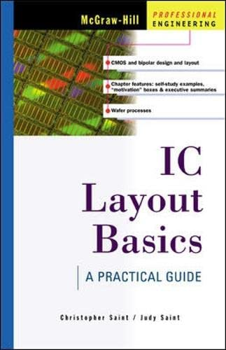 9780071386258: IC Layout Basics: A Practical Guide (Electronics)