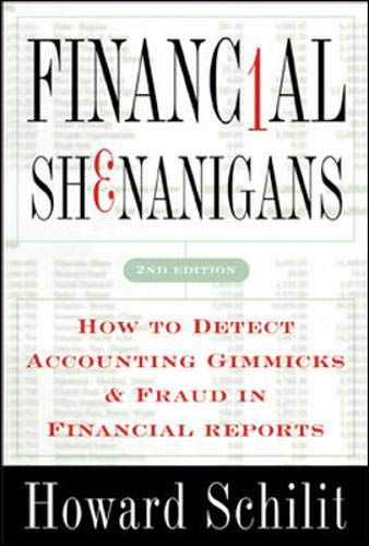 9780071386265: Financial Shenanigans: How to Detect Accounting Gimmicks & Fraud in Financial Reports, Second Edition