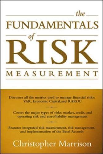 9780071386272: The Fundamentals of Risk Measurement