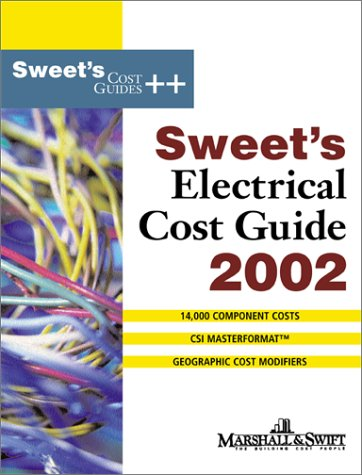 9780071386401: Sweet's Electrical Cost Guide 2002