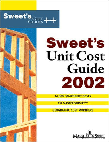 9780071386432: Sweet's Unit Cost Guide 2002