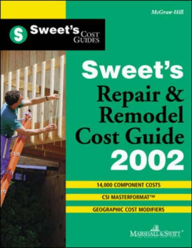 9780071386463: Sweet's Repair and Remodel Cost Guide 2002