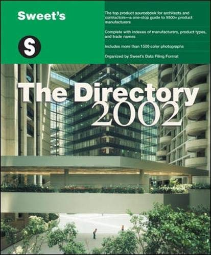 9780071386890: Sweet's the Directory 2002 2002