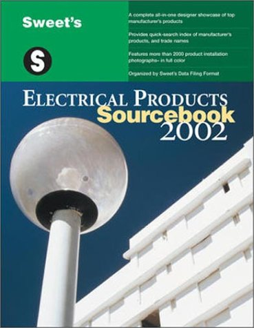 9780071386906: Sweet's Electrical Products Sourcebook