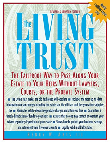 9780071387095: The Living Trust : The Failproof Way to Pass Along Your Estate to Your Heirs