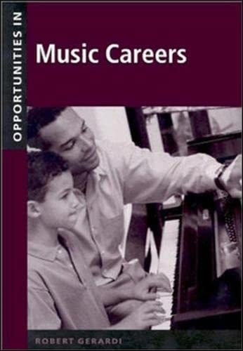 9780071387170: Opportunities in Music Careers