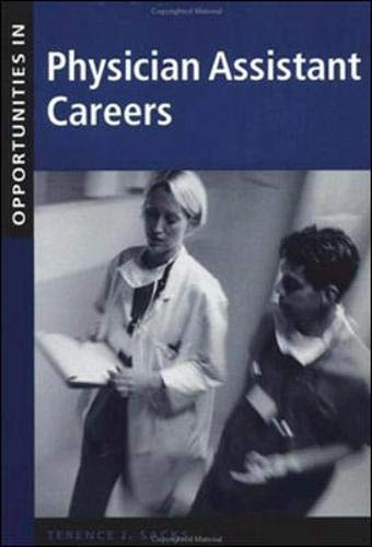 9780071387262: Opportunities in Physician Assistant Careers (Opportunities In! Series)