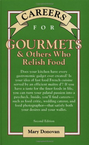 9780071387293: Careers for Gourmets & Others Who Relish Food, Second Edition