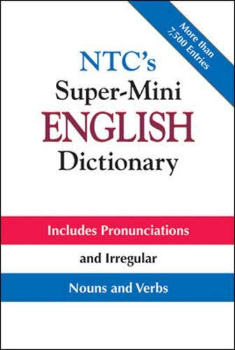 NTC's Super-Mini English Dictionary (007138748X) by Spears, Richard A.