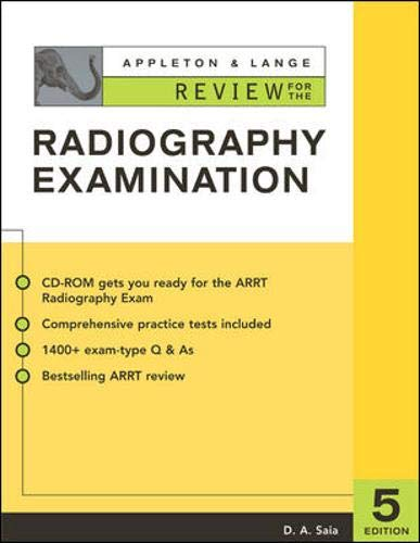 9780071387682: Appleton and Lange Review for the Radiography Exam