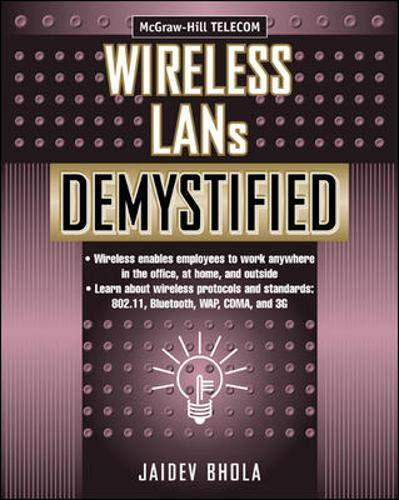 9780071387842: Wireless LANs Demystified (Demystified)