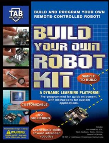 9780071387873: TAB Electronics Build Your Own Robot Kit