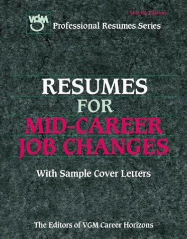 9780071388115: Resumes for Mid-Career Job Changers 2nd Ed.