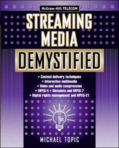 9780071388771: Streaming Media Demystified