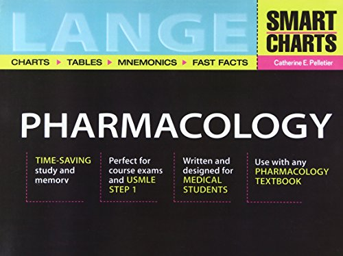 9780071388788: Lange Smart Charts Pharmacology