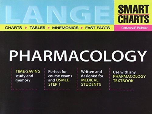 9780071388788: Lange Smart Charts Pharmacology