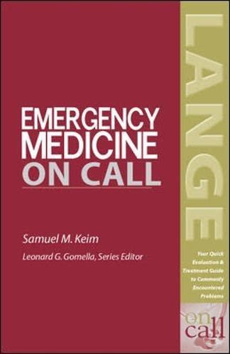 Emergency Medicine on Call.