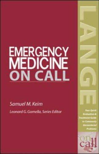 9780071388795: Emergency Medicine On Call (Lange on Call)