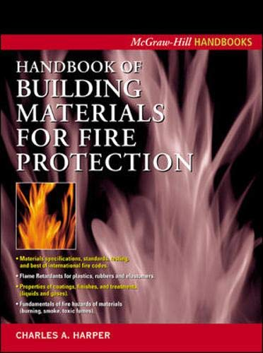 9780071388917: Handbook of Building Materials for Fire Protection (McGraw-Hill Handbooks)