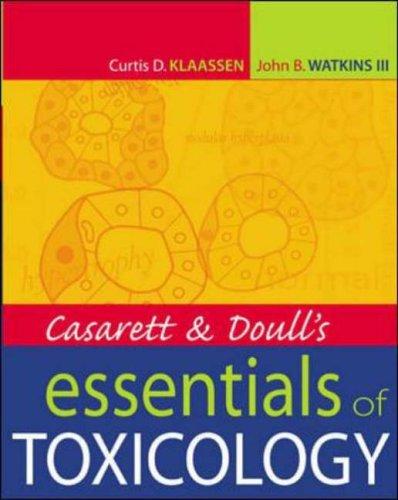 9780071389143: Casarett & Doull's Essentials of Toxicology (Casarett and Doull's Essentials of Toxicology)
