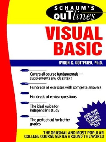 9780071389242: Schaum's Outline of Theory and Problems of Programming With Visual Basic
