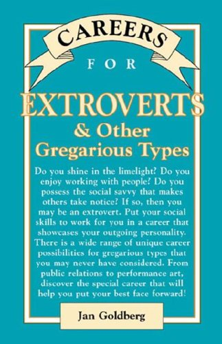 9780071389433: Careers for Extroverts & Other Gregarious Types