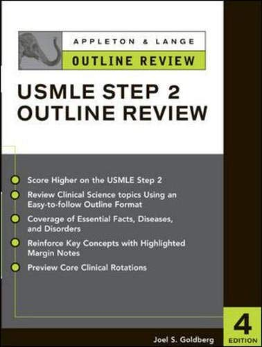 9780071390187: Appleton & Lange Outline Review for the USMLE Step 2