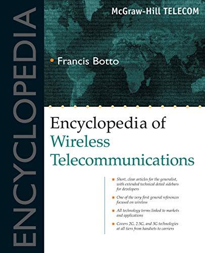 9780071390255: Encyclopedia of Wireless Telecommunications (Basics Series)
