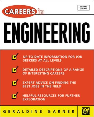 9780071390408: Careers in Engineering (VGM Professional Careers Series)