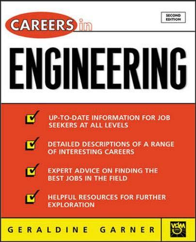 9780071390415: Careers in Engineering, 2nd Ed.