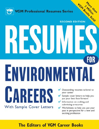 9780071390422: Resumes for Environmental Careers, 2nd Ed.
