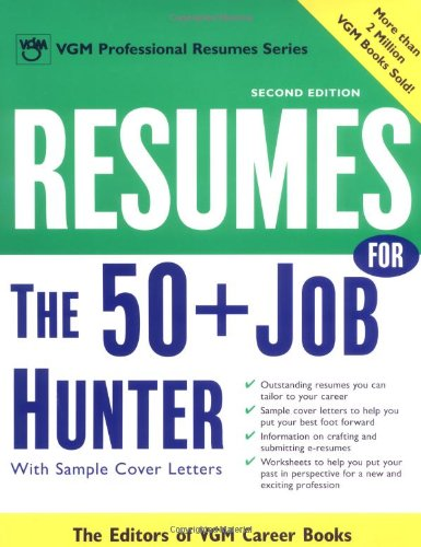 9780071390439: Resumes for the 50+ Job Hunter, 2nd Ed. (VGM Professional Resumes)