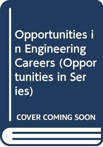 9780071390477: Opportunities in Engineering Careers