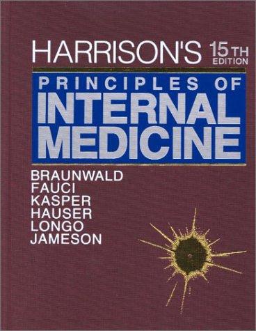 9780071391009: Harrison's Principles of Internal Medicine Textbook & CD-ROM